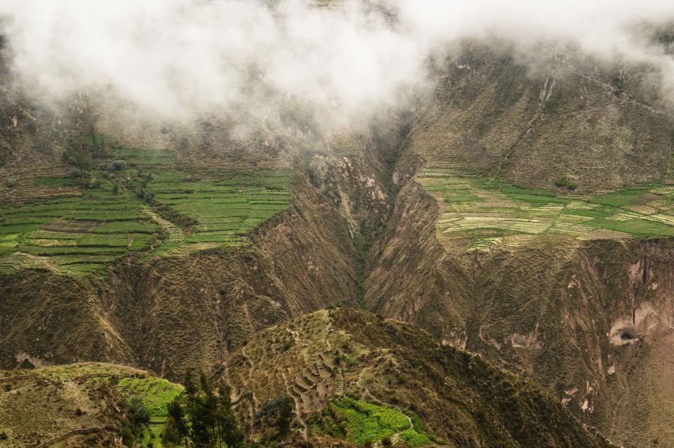 Peru boasts the deepest canyon in the world
