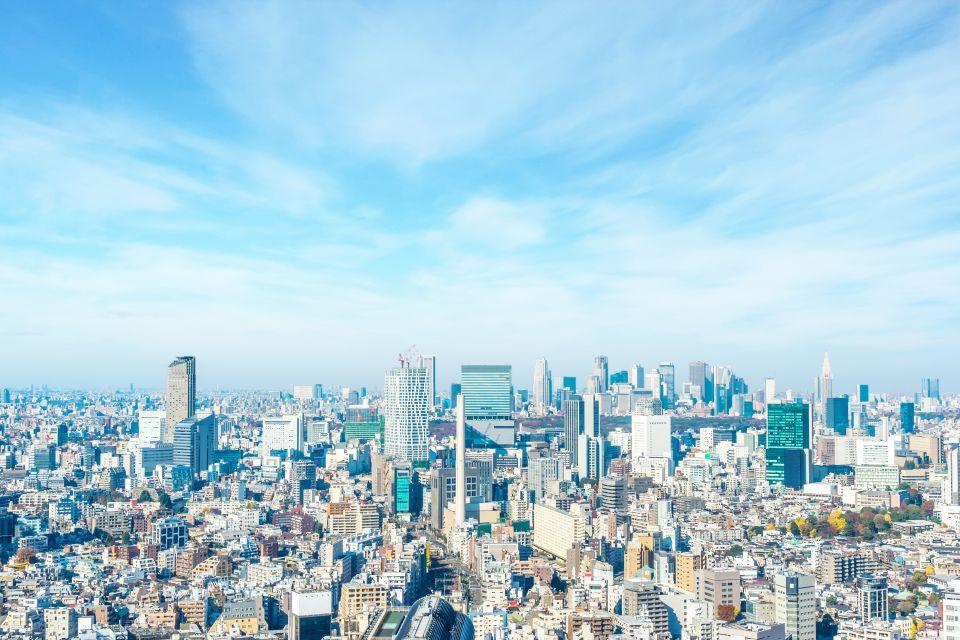 Affacciati dal Tokyo Tocho per godere della città a volo d'uccello