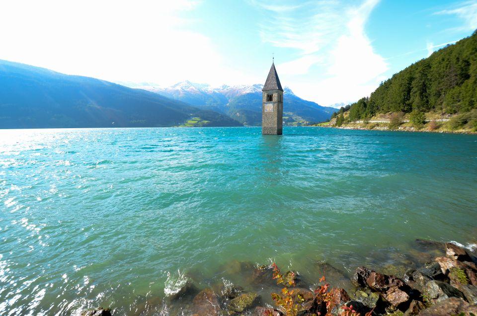 Lac de Resia en Italie
