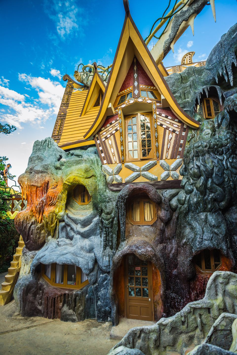 1. The Crazy House