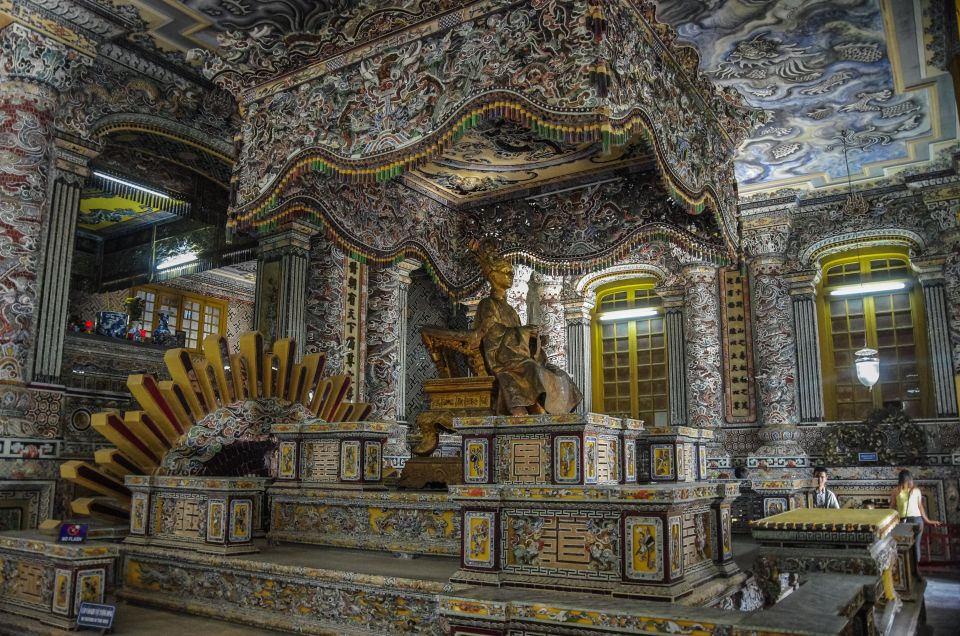 4. The Tomb of Nguyen Emperor, Khai Dinh