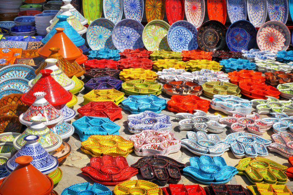 Mayo: siéntete uno más regateando en Fez