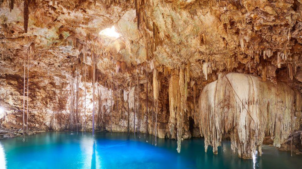 Parc des grottes d'Aktun Chen, Yucatán, Mexique