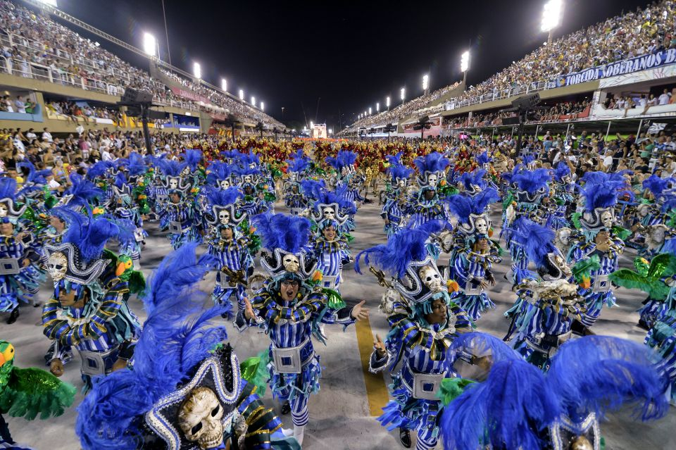 The Rio de Janeiro Carnival, Brazil