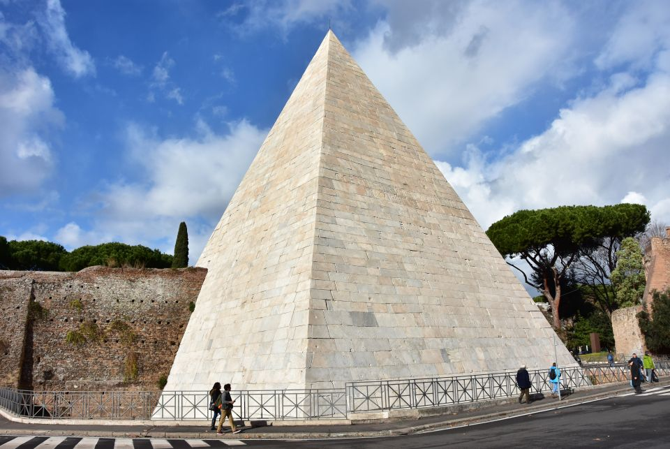 Pyramid of Cestius, Italy