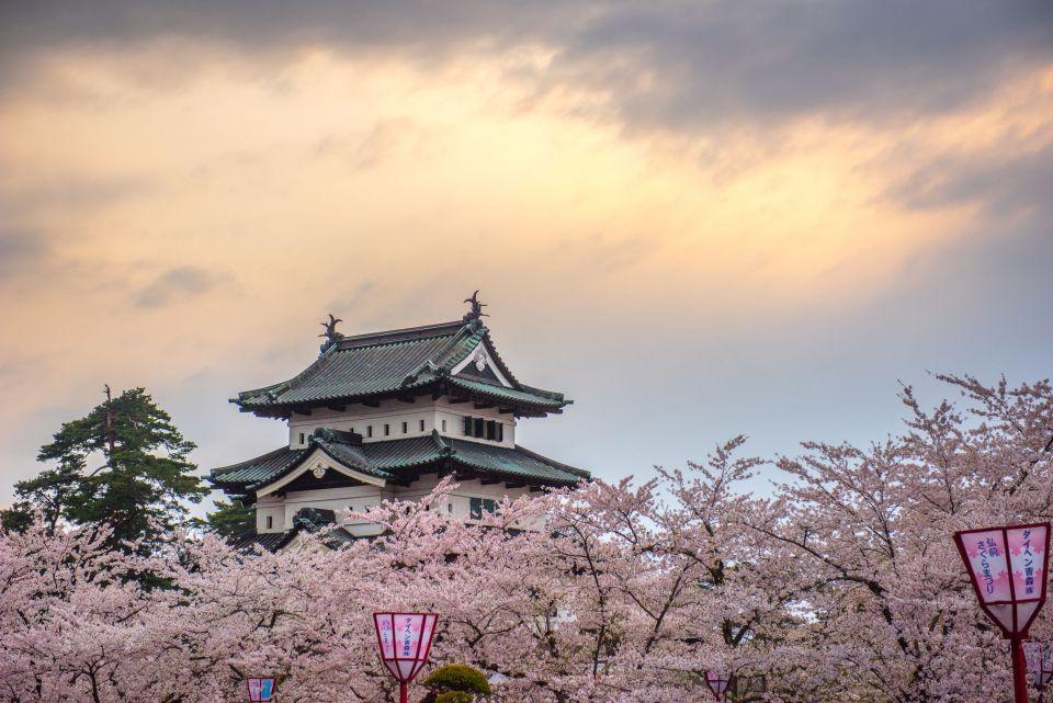 El Castillo de Hirosaki