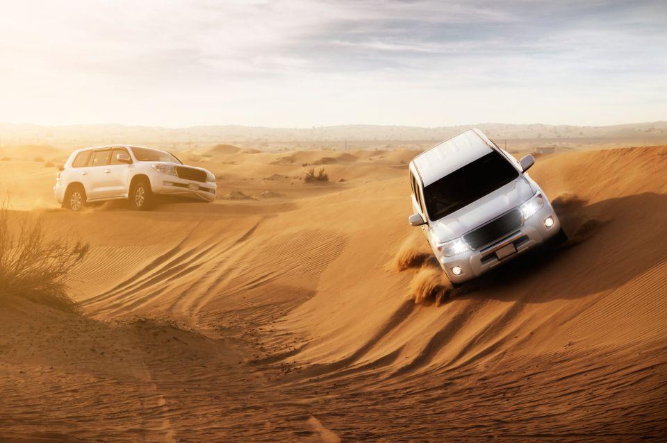 Experience Dune Bashing in Dubai Desert