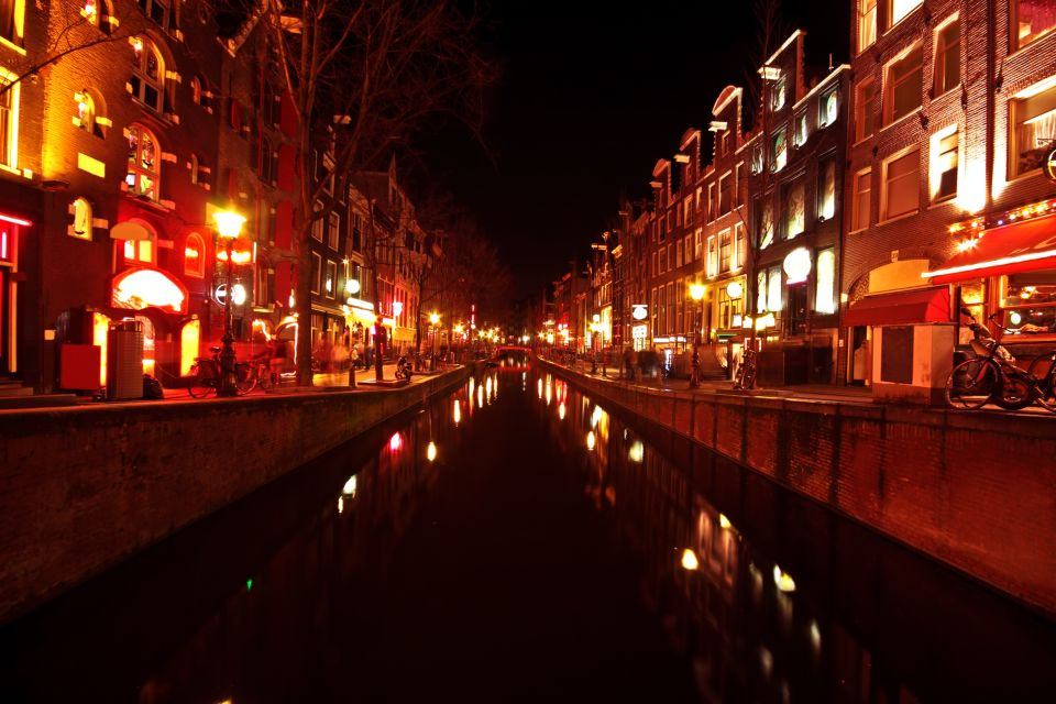 Visit the infamous Red Light District