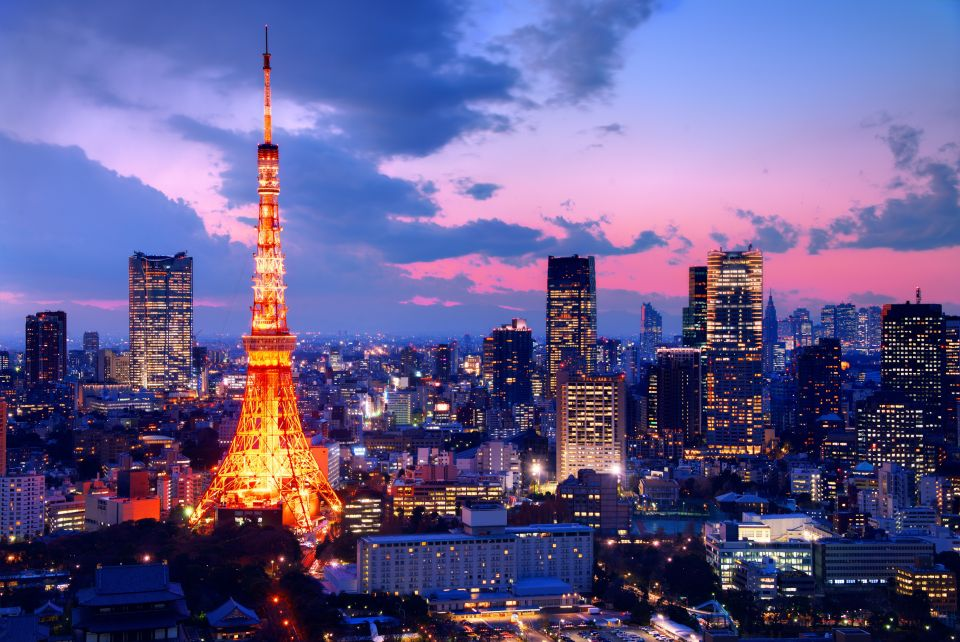 Admire the Tokyo Tower