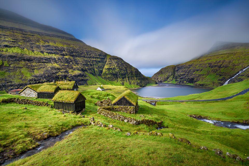 Villaggio di Saksun, isola di Streymoy, Isole Faroe, Danimarca
