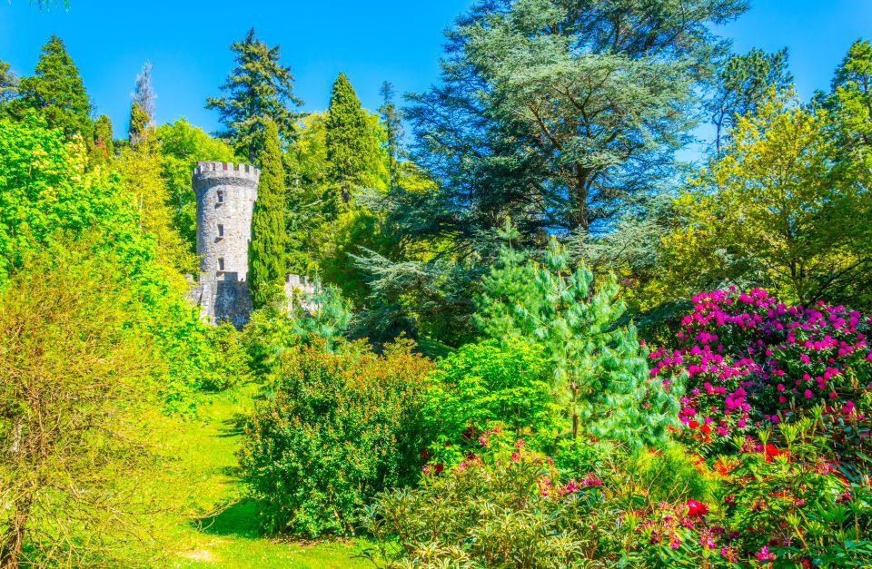 Le jardin caché du château de Dublin