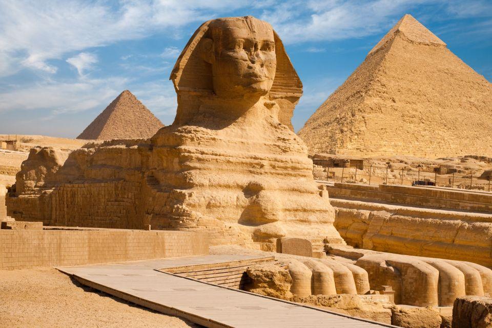 Gran esfinge de Guiza (Egipto)