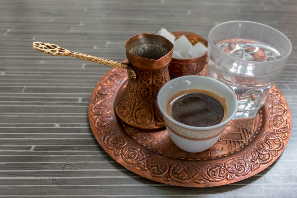 Wake up with a cup of Bosnian coffee