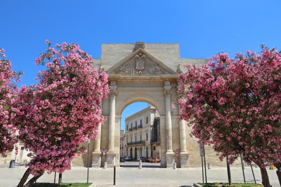 The Baroque architecture of Lecce
