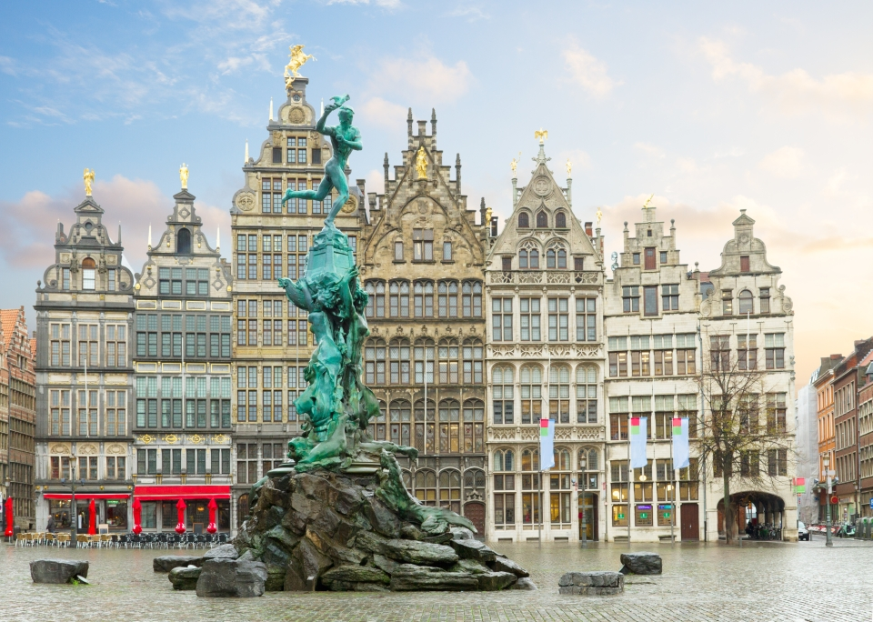 Take in the Grote Markt and the Town Hall