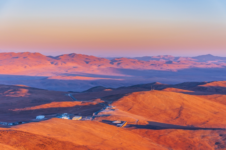 Paranal Observatory complex, Chile