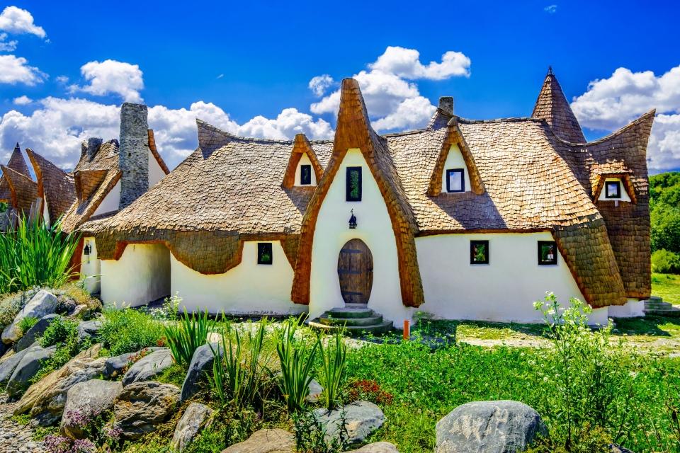 Le Castel de Lut en Roumanie