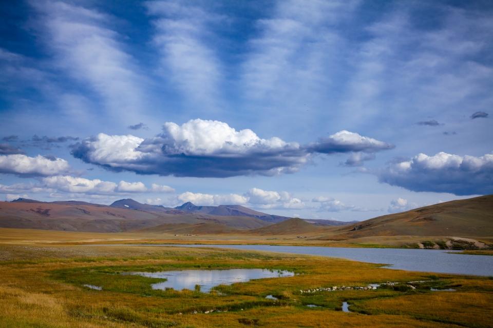 Las montañas de Altai