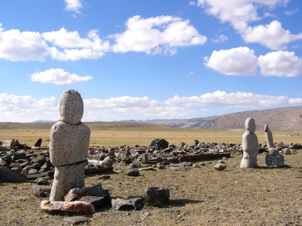 Los restos arqueológicos de Arkhangai y Ovorkhangai