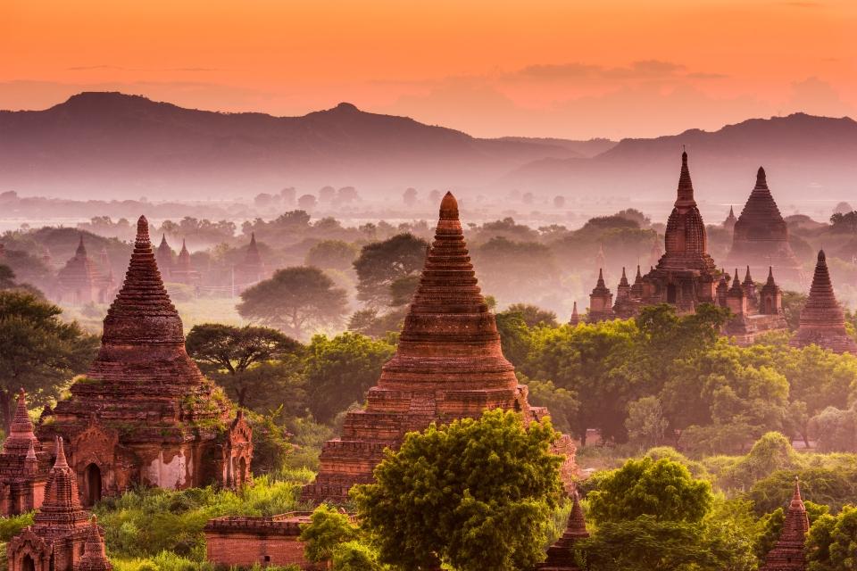 The Bagan Temples