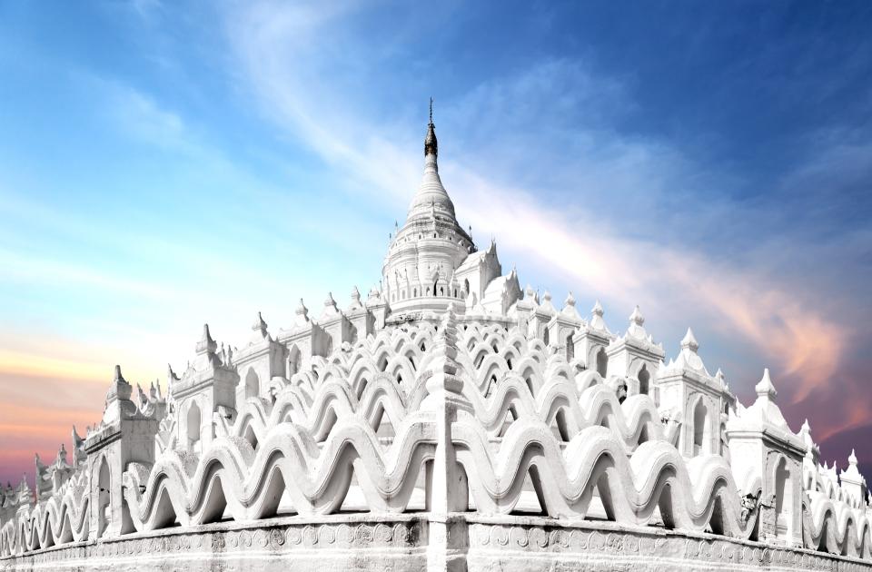 The Hsinbyume Pagoda