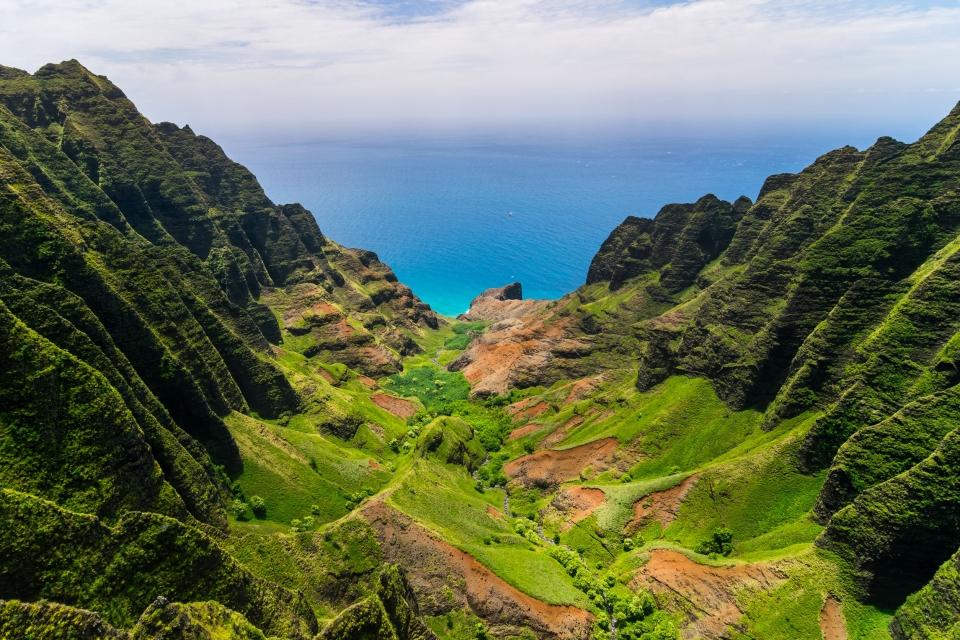 Kalalau Trail, Hawaï