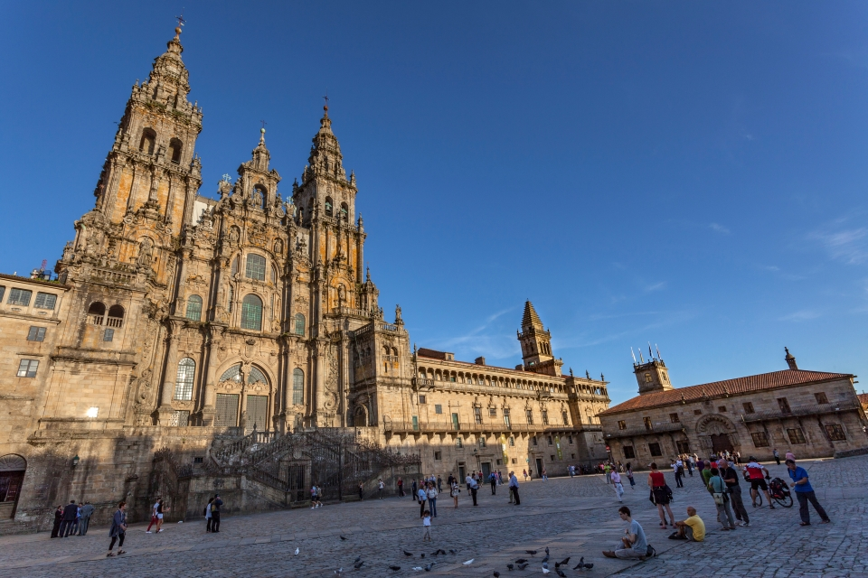 2. Catedral de Santiago de Compostela