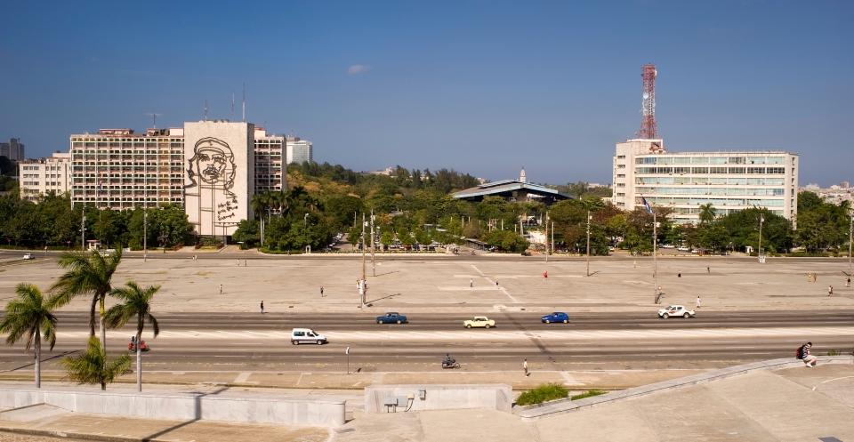 La Plaza de la Revolución, La Habana