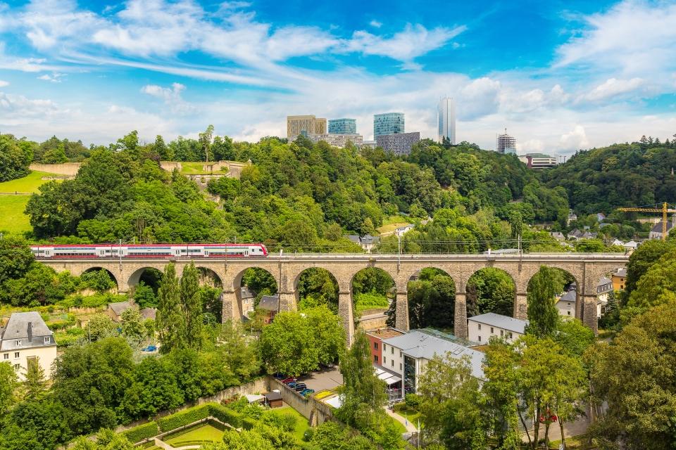 Luxemburgo-Passerelle, Luxembourg
