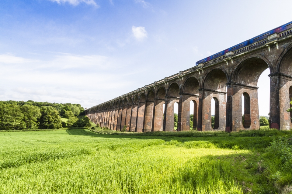 Ouse Valley Viaduct, England