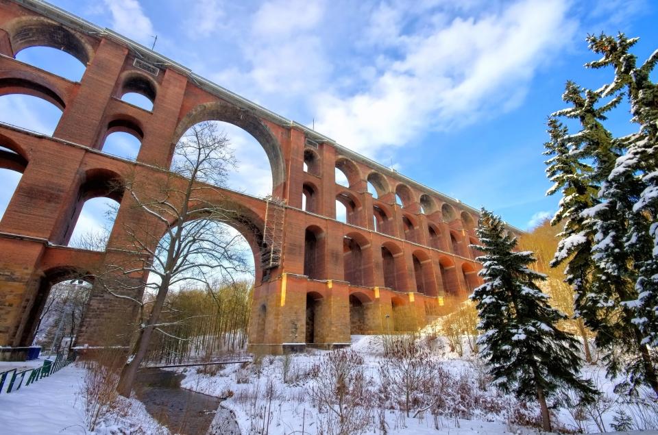 Göltzsch Viaduct, Germany