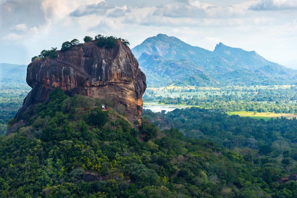 Sigirya, la pietra-fortezza