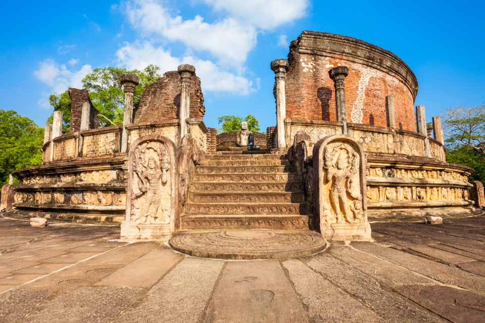 Polonnaruwa, l'antica capitale scolpita nella roccia