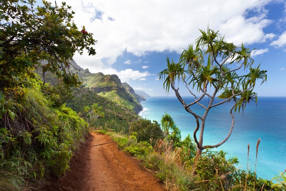 The Kalalau Trail, Hawaii