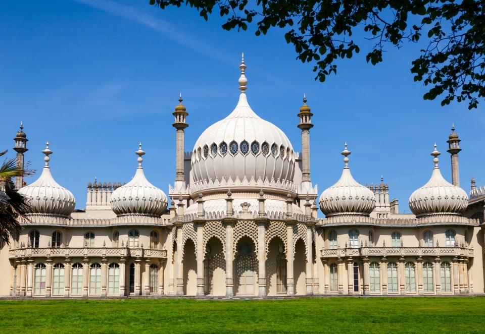 2. The Brighton Pavilion