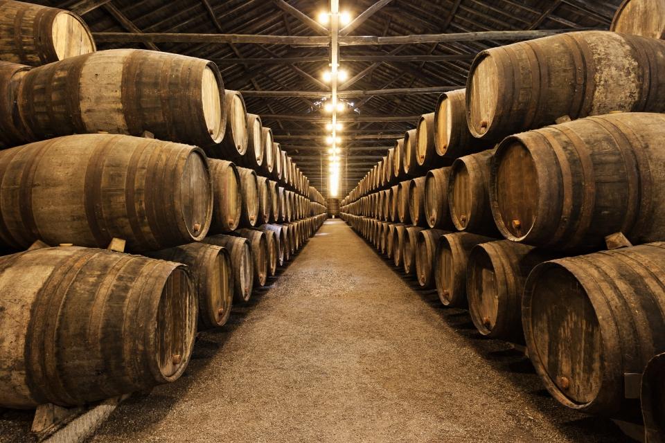 3. Port wine cellar tours