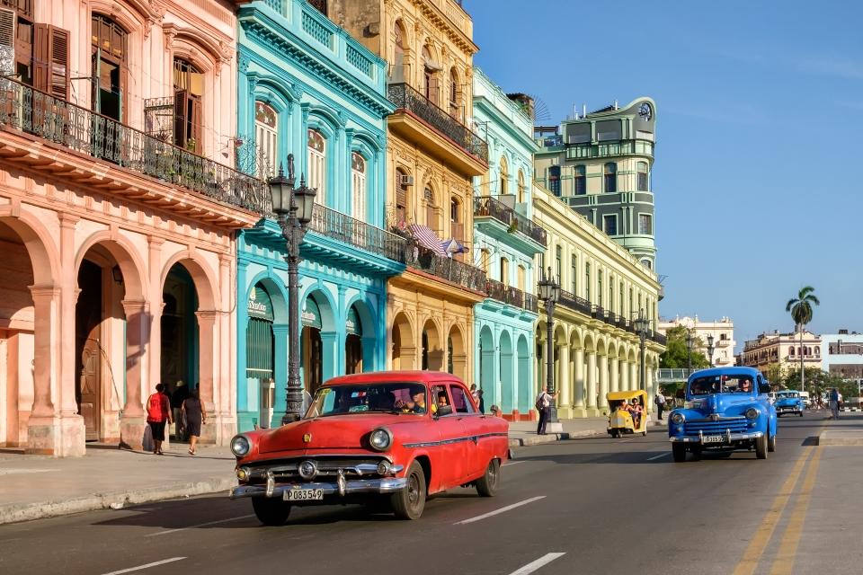 4. Cuban classic cars