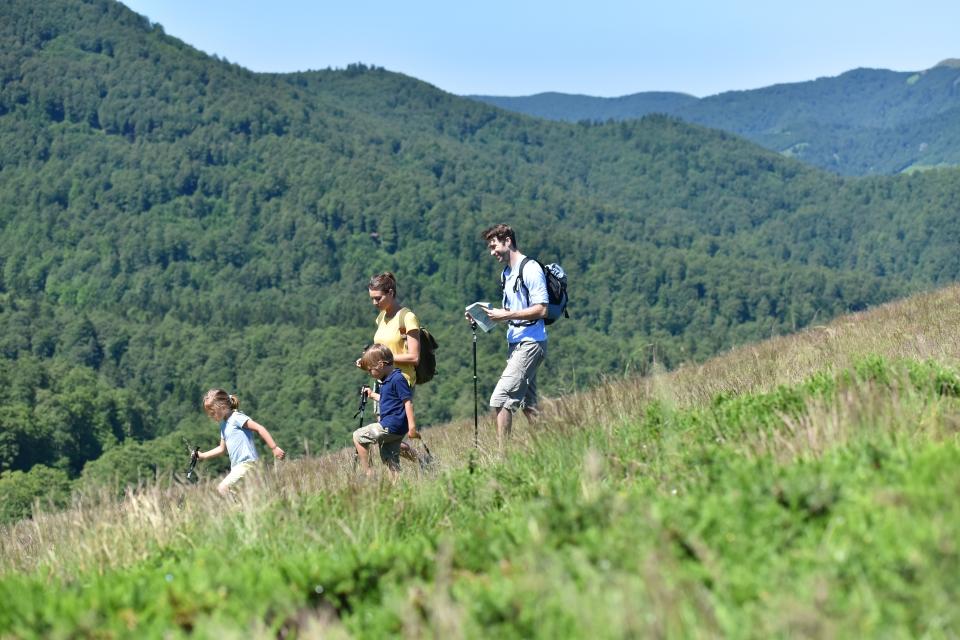 1. Hiking trails