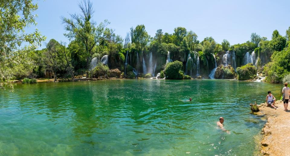 2. Kravice Waterfalls