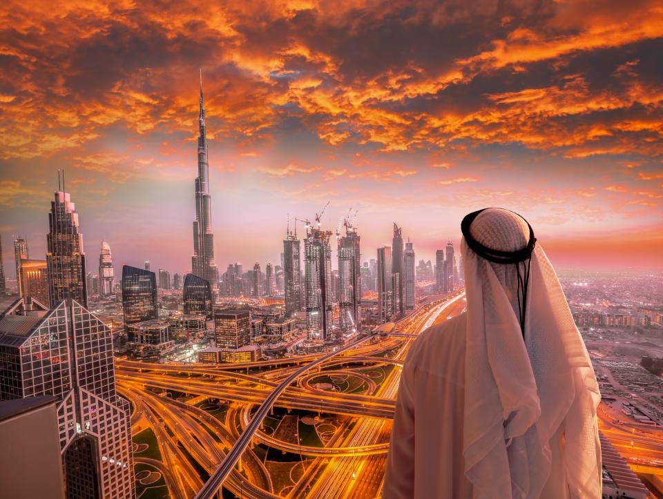 3. Burj Khalifa (Dubai, Emiratos Árabes Unidos)