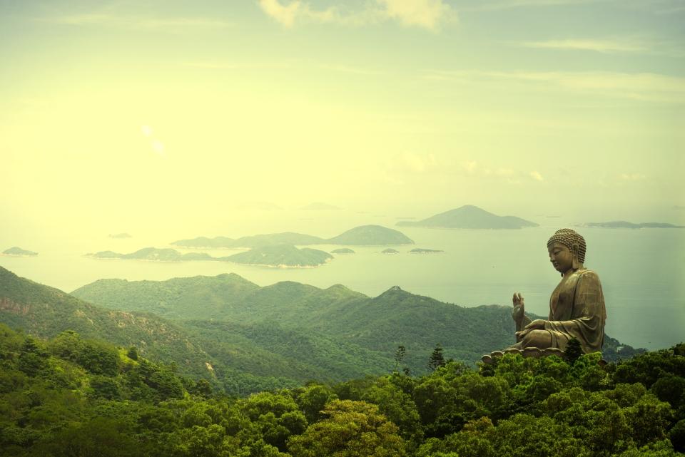 1. Tian Tan Buddha Statue, Hong Kong