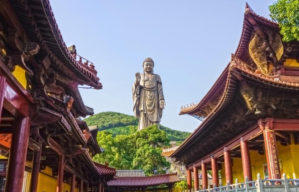 2. Grand Buddha at Ling Shan, China