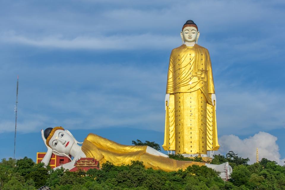 4. Monywa Buddha, Myanmar