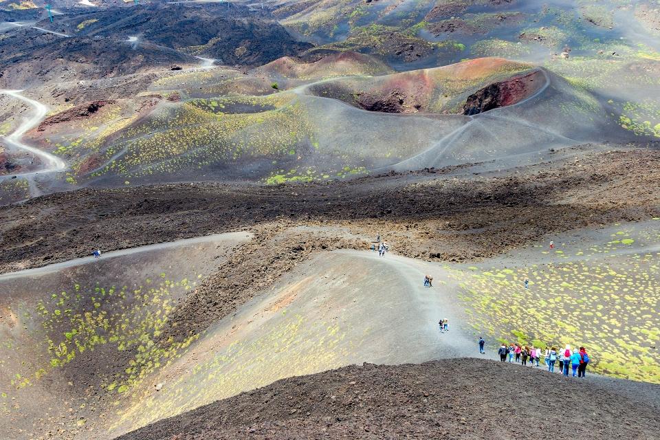 1. Dramatic Mount Etna