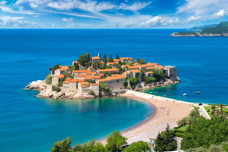10. Sveti Stefan, Montenegro
