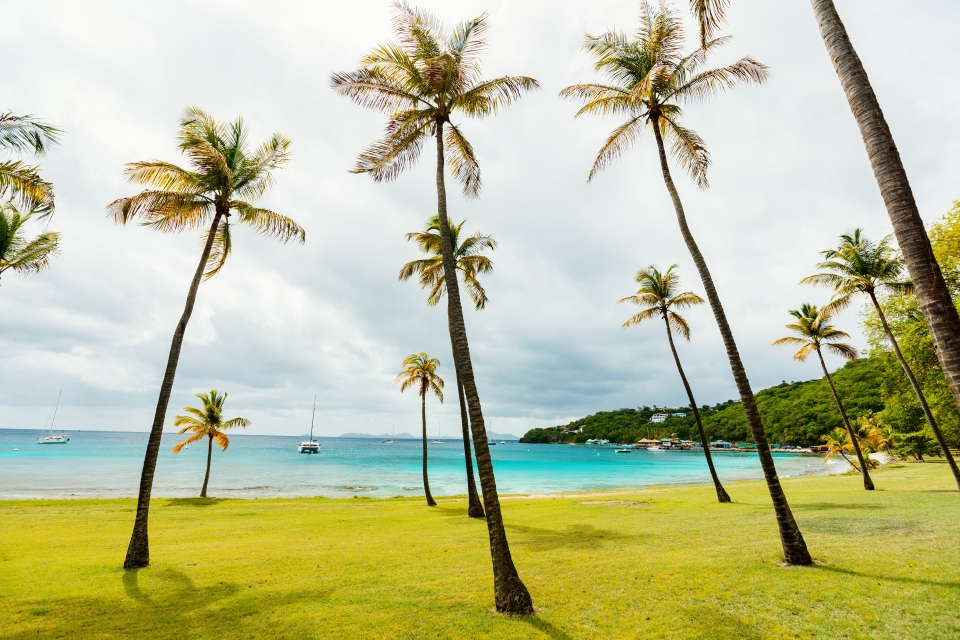 7. Mustique Island, St. Vincent and the Grenadines