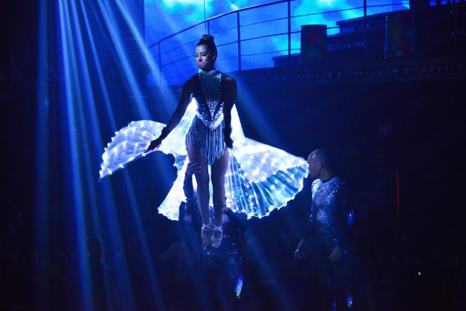 Une fée ou un ange sur un air de