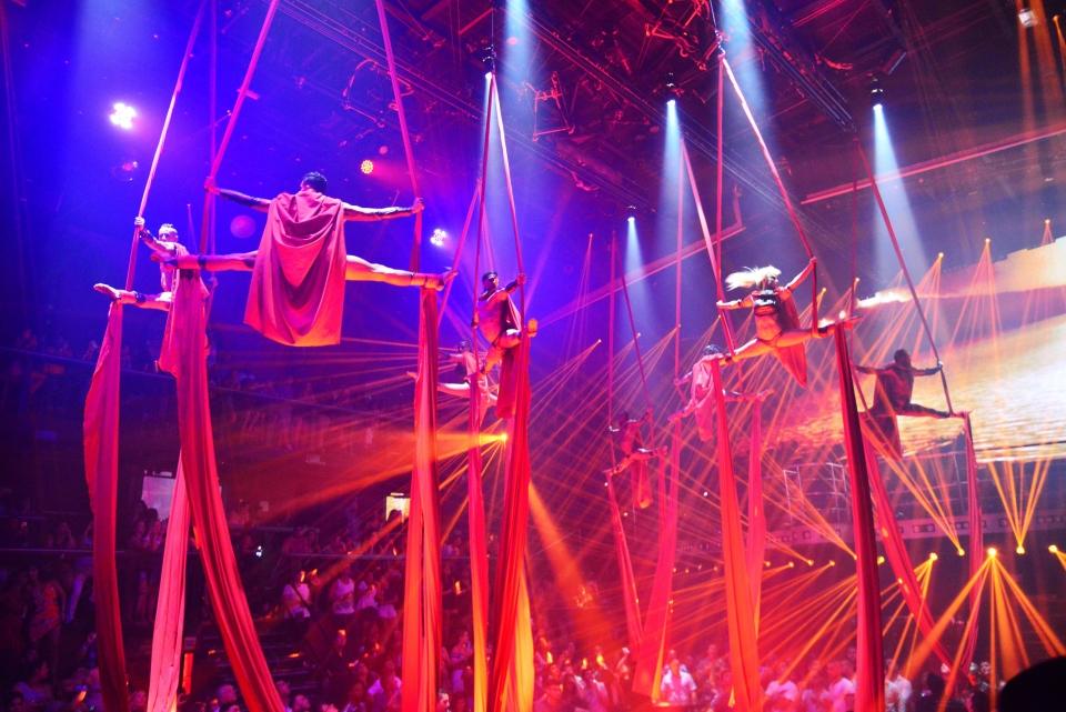 Comme au cirque !