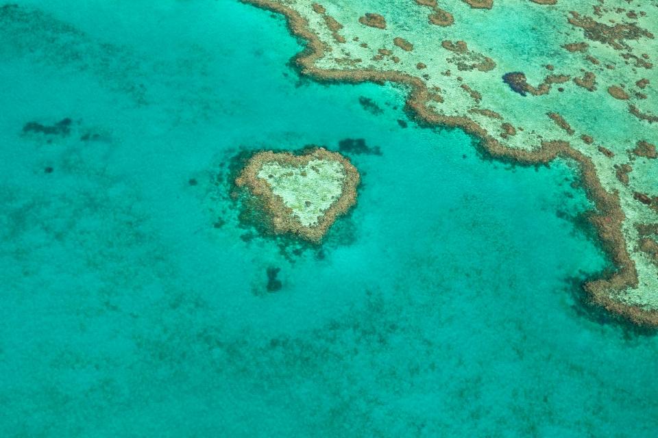 2. Heart Reef, Australia