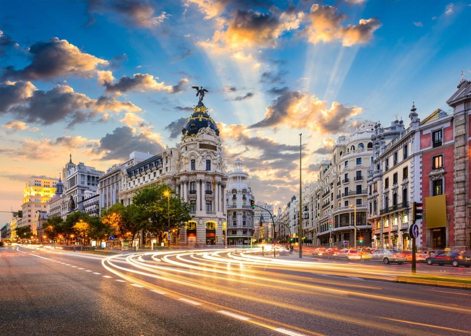 Spaniens Stadt, die nie schläft